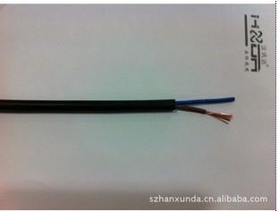 銅芯聚氯乙稀絕緣聚氯乙稀護套軟電纜