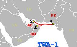 华为海洋网络将升级TW-1海底电缆系统至100G
