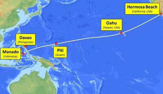 帕劳群岛将于明年底接入SEA-US海底光缆系统
