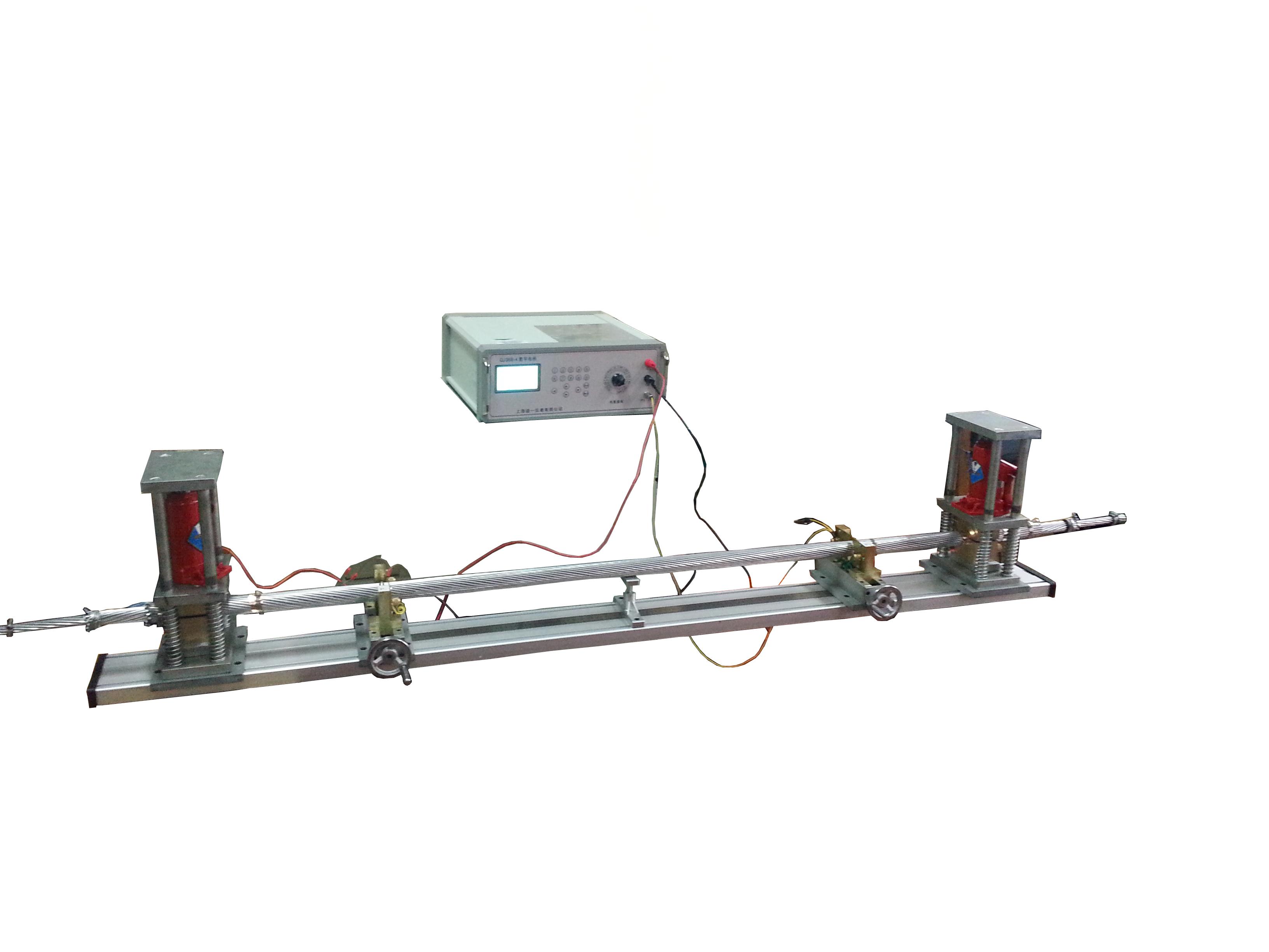 多股絞合銅、鋁導體電阻測量電橋液壓夾具