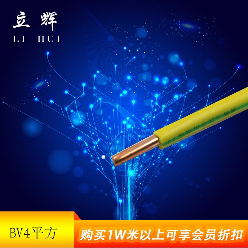 电线电缆厂家供应BV4家装电线 电线 现货 欢迎批发订购 BV4