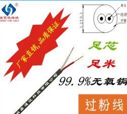 OD:3.2MM深灰色 12/0.12BC*2C過粉線 AVVR2*0.12平方信號線