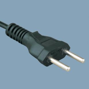 插头电源线插头电线巴西认证插头电源线16安极性插头4.8针环保