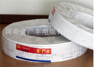 国标电源线 工程家用电线 电线电缆 护套线BLVVB-2*6铝线单塑