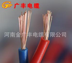 国标电线 阻燃双芯电线 ZR-RVS 2*6平方电线电缆 纯铜电线 消防线