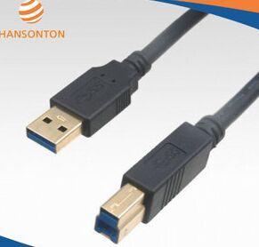 廠家批發供應USB3.0方口電腦插線 數據連接線 雕刻機線 打印機線