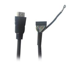 廠家批發 訂做HDMI20P杜邦線 鍍鎳頭1.4v 杜邦端子線 杜邦高清線