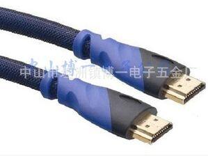 廠家直供HDMI線 雙色HDMI1.4版高清連接線(圖)