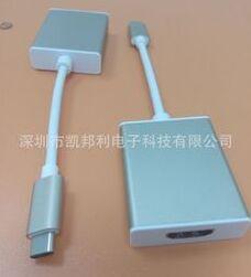 凯邦利USB 3.1 TO HDMI Type-C转HDMI线/Macbook USB3.1转HDMI