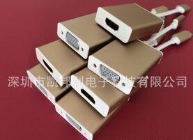 凯邦利 USB3.1 Type-c转VGA适配器视频线 USB-C 新Macbook VGA