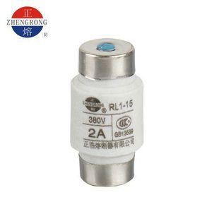 正浩厂家直销 RL1-15 螺旋式低压熔断器 RL1-60 100 200 CCC认证