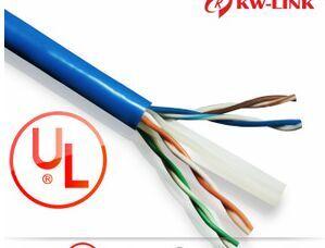 0.57全銅十字軸 UL認證網線 安普利訊 六類非屏蔽網絡四對雙絞線