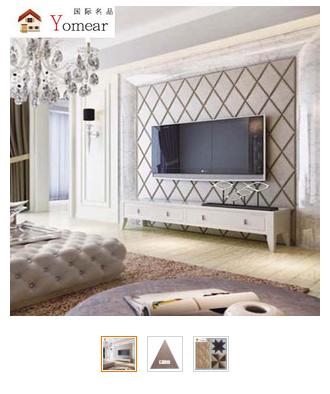正定厂家直销软包床头背景墙硬包装饰材料聚氨酯材质菱形异形系列