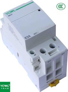 家用小型交流接觸器WCT-63A/2P 導軌式安裝 施耐德CT接觸器