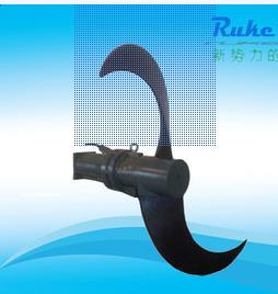 香蕉型叶轮推流器 2500mm直径低速推流器 潜水推流器