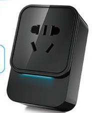 智能家居 wifi插座套装 含两个插座四个插件 手机APP远程无线遥控