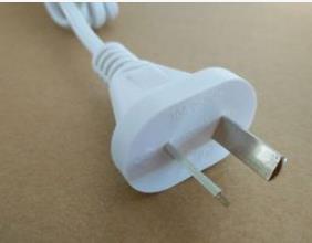 工厂批发阿根廷两芯插头电源线,优质电源线