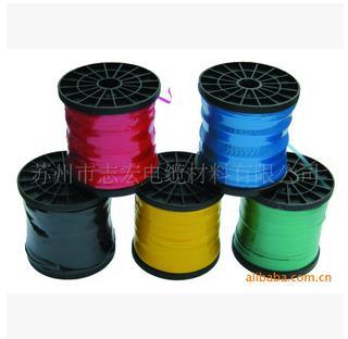 厂家直供7.0mm电缆高温分色带绕包带pvc绝缘填充带高色谱带标识带