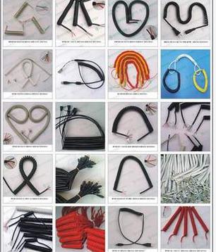 供应电话线|弹簧线|螺旋线|弹工线|卷线曲线|弹弓线|生产厂家