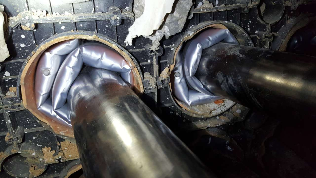 可重復使用KOTN充氣式電纜管道密封袋