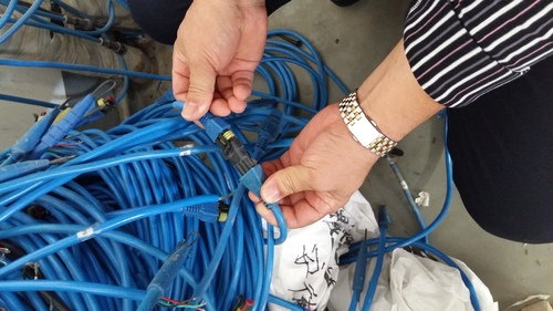 测温电缆应用,占伟机械电子检温设备