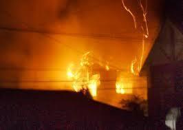 日本大分市一住宅被烧 现场发现一男子死亡