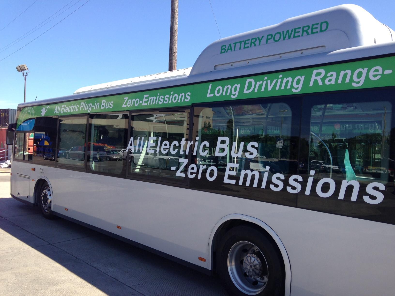 到2020年全球电动公共汽车市场达850亿美元