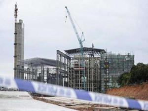 广州第七热电厂作业平台坍塌致9死2伤