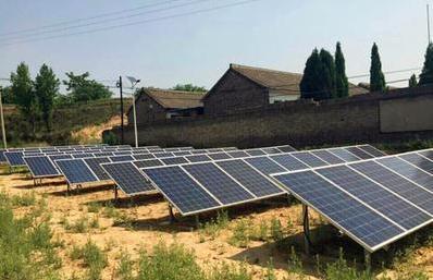 贵州最大光伏电站并网发电