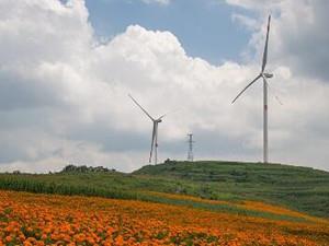 湖南益阳柴下洲风电场顺利并网发电