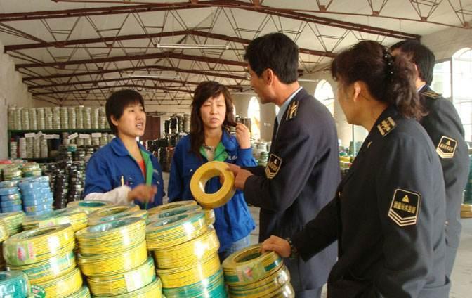 安徽亳州市质监局专项督查电线电缆生产企业
