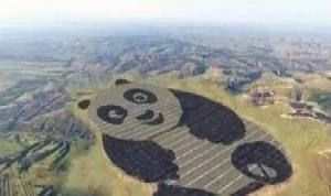 史上最萌的熊猫光伏电站在山西落成