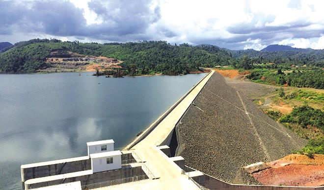 中国葛洲坝集团获老挝南屯1号水电站合同