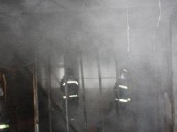 因电房电线短路 广州一住宅楼冒出浓烟