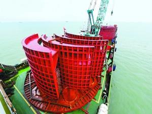 我国北方首个海上风电项目预计2018年底并网发电