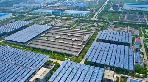 扬州建成首个污水光伏电站