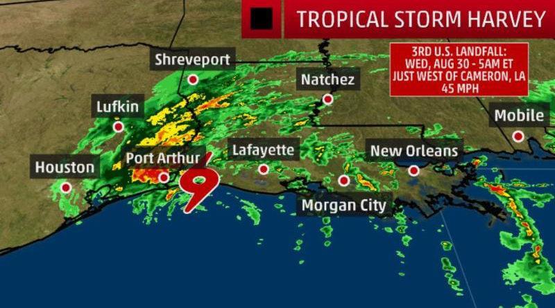 热带风暴哈维登陆导致美国20%炼油产能关停