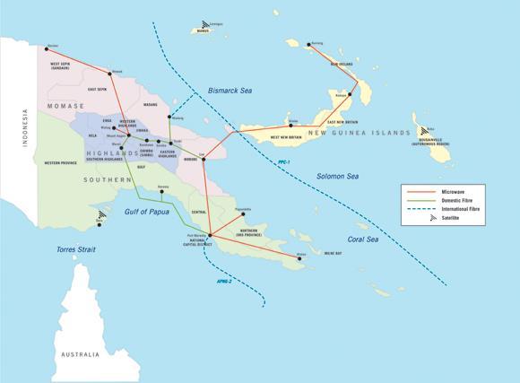 澳洲-巴新海底光缆将于2018APEC峰会前完工