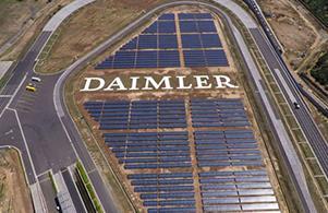 戴姆勒计划到2018年拥有可再生能源汽车工厂