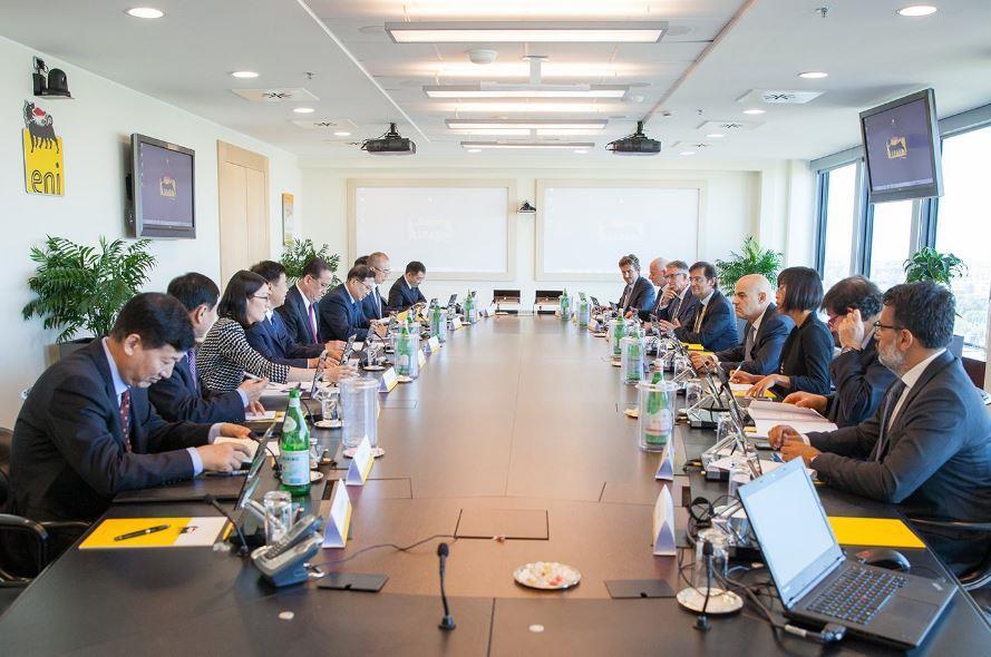中石油与意大利埃尼集团合作 促进互利共赢