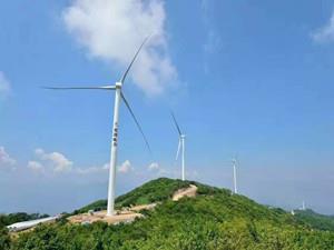 福建闽清县首个30兆瓦新能源风电项目开工建设