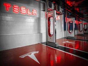 特斯拉宣布将在我国推出75kW城市超级充电桩