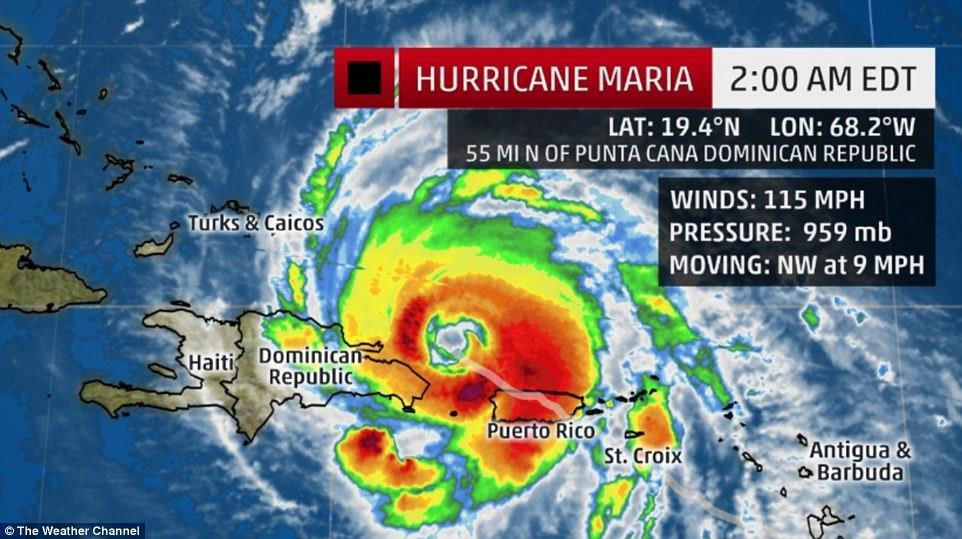 飓风袭击致电网瘫痪 波多黎各停电将达半年