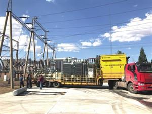 内蒙古电网首套车载移动变电站成功落户包头