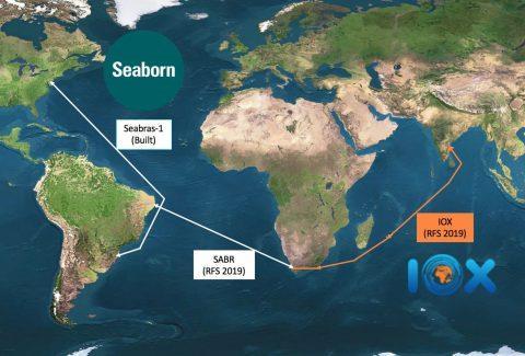 巴西Seaborn网络系统与IOX海底光缆实现互连