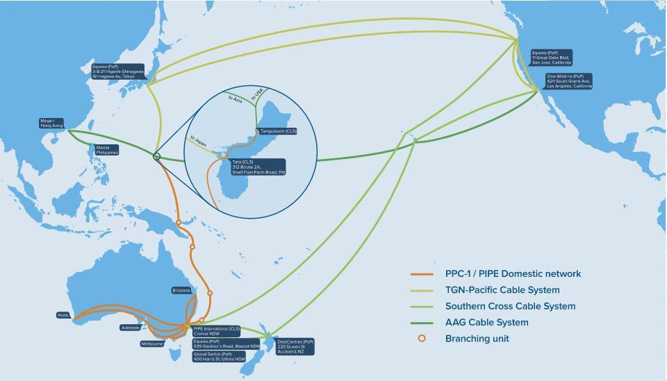 巴新-澳洲新海底光缆筹建 服务2018APEC峰会