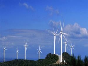 青海西宁首个风力发电项目机组并网发电