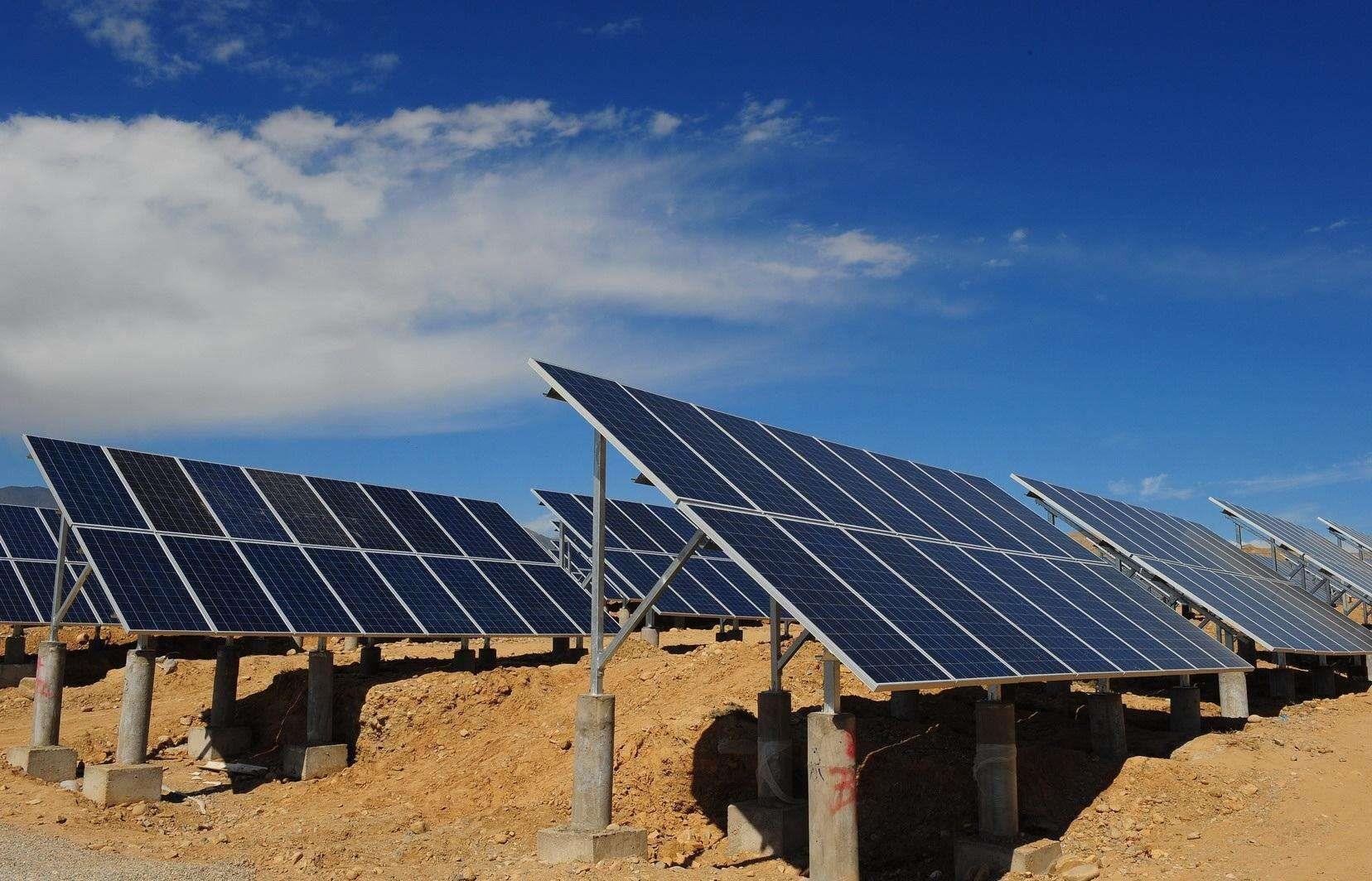 湖南衡南县拟建万个扶贫光伏发电站