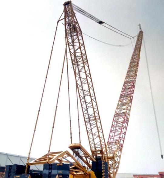 徐工XGC650履带吊超强风电臂引领行业吊装新高度