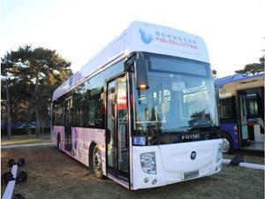 福田欧辉12米氢燃料电池客车获加拿大总理盛赞
